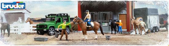 Paarden-speelgoed