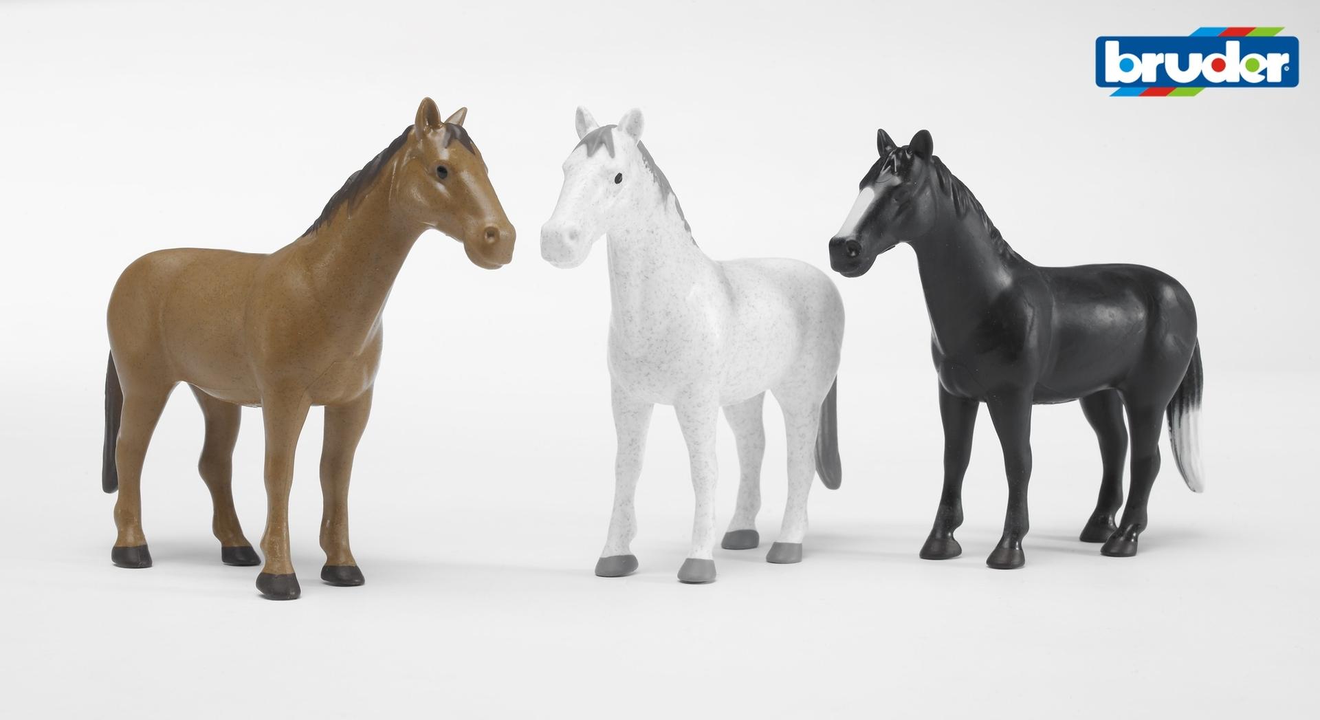 paarden om mee te spelen van bruder