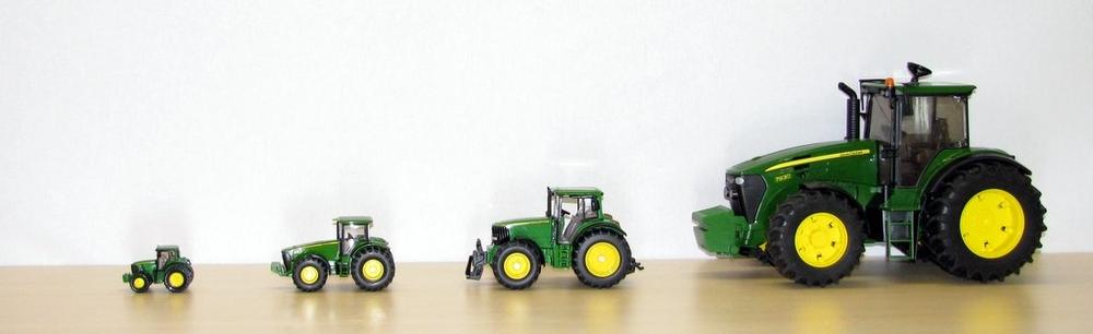 john deere speelgoed modellen