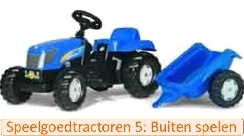 Welke speelgoed tractor 5: buiten speelgoed