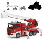 Brandweer Scania R-serie met waterpomp