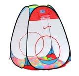 pop-up tent met ballen