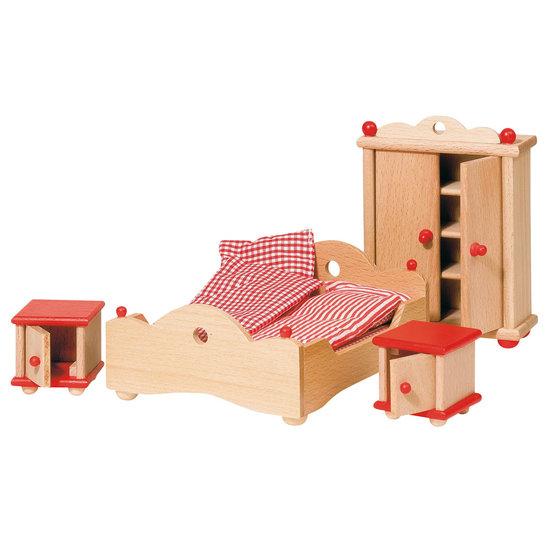 Poppenhuis meubilair slaapkamer