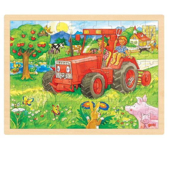 Puzzel boerderij extra groot