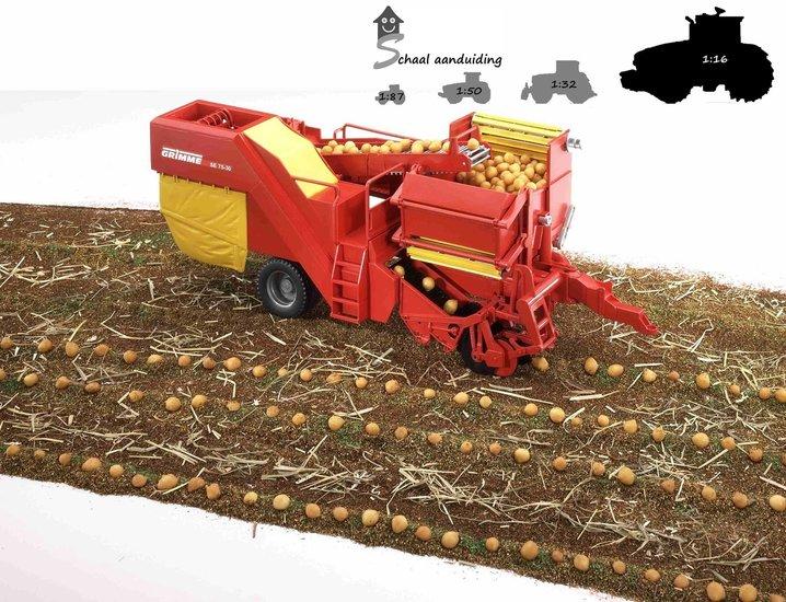 Bruder aardappelrooier Grimme SE 75-30