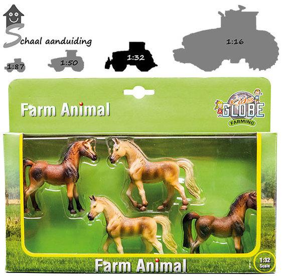 Miniatuur paarden (schaal 1:32)