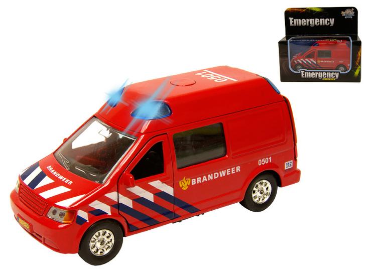 Metalen Speelgoed Brandweer auto