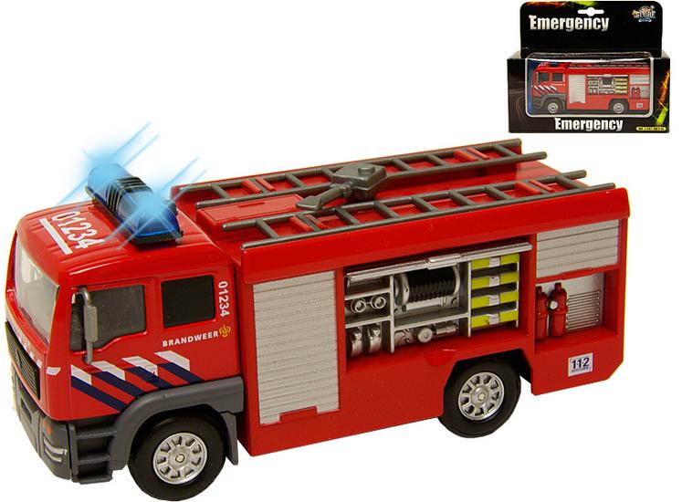 Brandweer wagen voor kleine brandjes