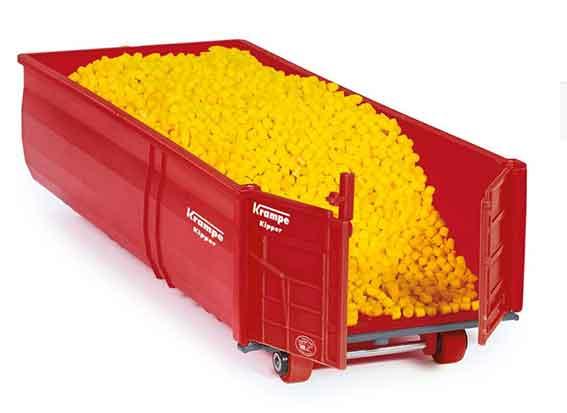 Siku Krampe haaklift container (schaal 1:32)
