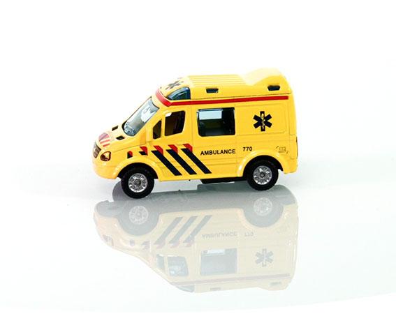 Kids Globe Traffic Ambulance