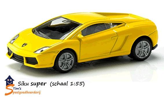Siku Lamborghini Gallardo (schaal 1:55)