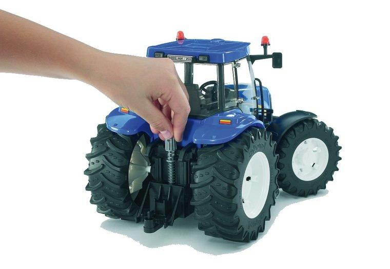 bruder tractor trekhaak achter