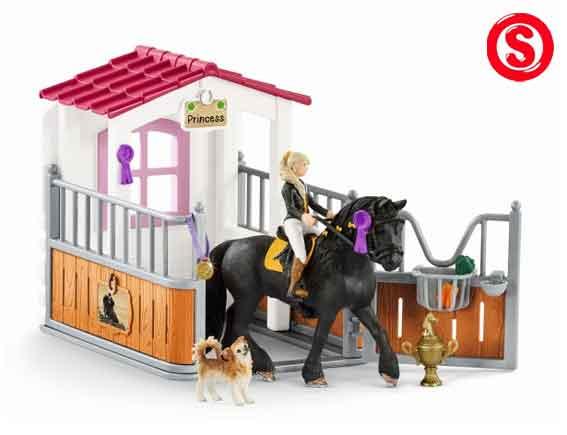 Kleurplaten Paarden In De Stal.Schleich Paardenstallen
