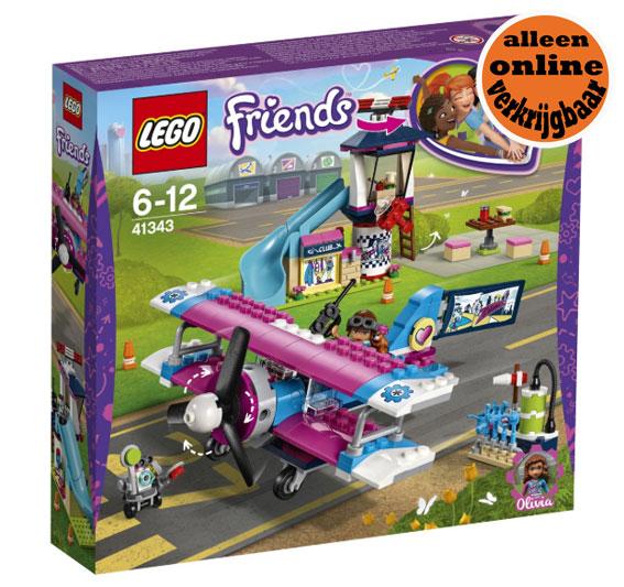 Lego Friends 41343 Heartlake City Vliegtuigtour