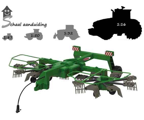 Jamara Remote control Hark voor Fendt 1050 (schaal 1:16)