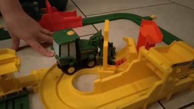 speelgoed trekker baan