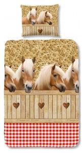 dekbedovertrek paardenstal