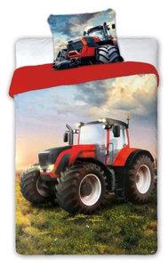 dekbedovertrek rode tractor