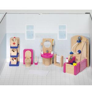 goki poppenhuis badkamer