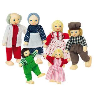 boeren poppenhuis familie