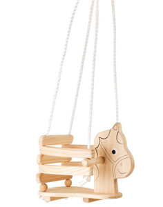Schommel Baby Hout.Houten Schommel Paard