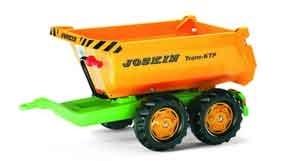 Rolly Toys Joskin Halfpipe trailer