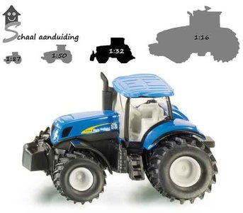 Siku trekker New Holland T8 390