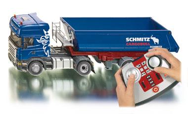scania bestuurbare vrachtwagen