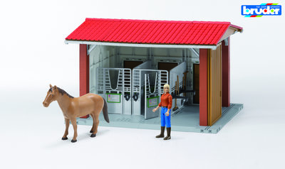 complete speelgoed paardenstal