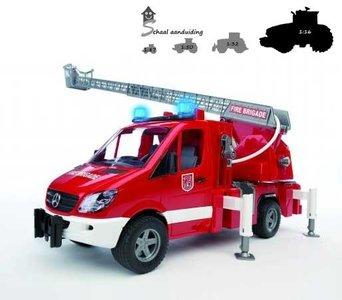 Bruder Mercedes Benz brandweer