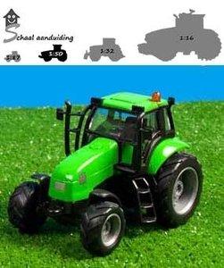 groene kids globe tractor