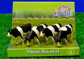 Set van 4 koeien schaal 1:50