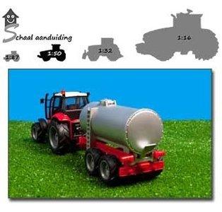 tractor met giertank