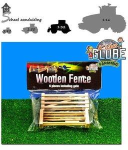 Kids Globe houten hekken