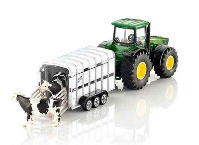SIku tractor met veeaanhanger