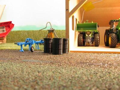 oliedrum voor modelbouw en speelgoed