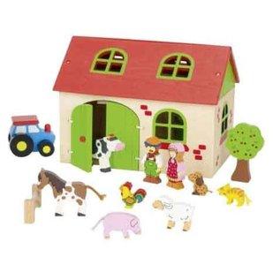 houten boerderij