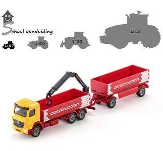 Siku bouwmaterialen vrachtwagen