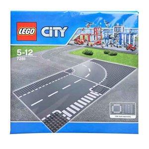 Lego wegen bouwplaat