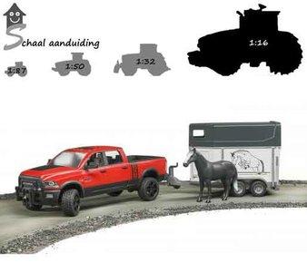 Bruder Dodge Ram Wagen