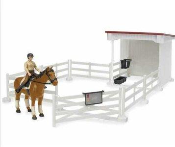 paarden schuilstal om mee te spelen