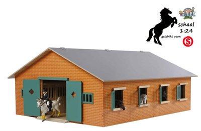 Hedendaags Grote speelgoed paardenstal met 7 boxen SF-63