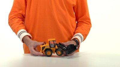 speelgoed shovel JCB