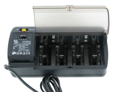 batterijen lader