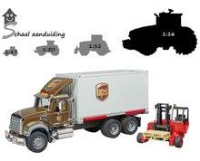 Bruder Mack Granite UPS vrachtwagen