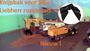 Siku Liebherr Remote kraan met knijpbak_
