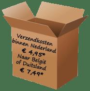 doos met verzendkosten